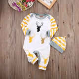 Deer Playsuit with Hat