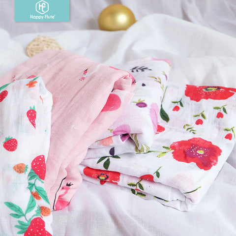 Muslin 100% Cotton Baby Swaddle Blanket