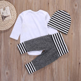Striped Three Piece Set