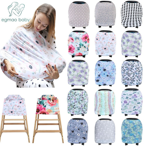 Multifunctional 4 in 1 Cover for Breastfeeding, Car Seat, and more