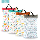 Large Hanging Wet/Dry Pail Bag for Cloth Diapers & Laundry