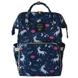 Patterned Diaper Bag Waterproof Backpack