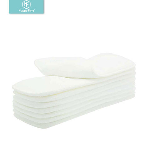 Microfiber Cloth Diaper Inserts - Set of 10