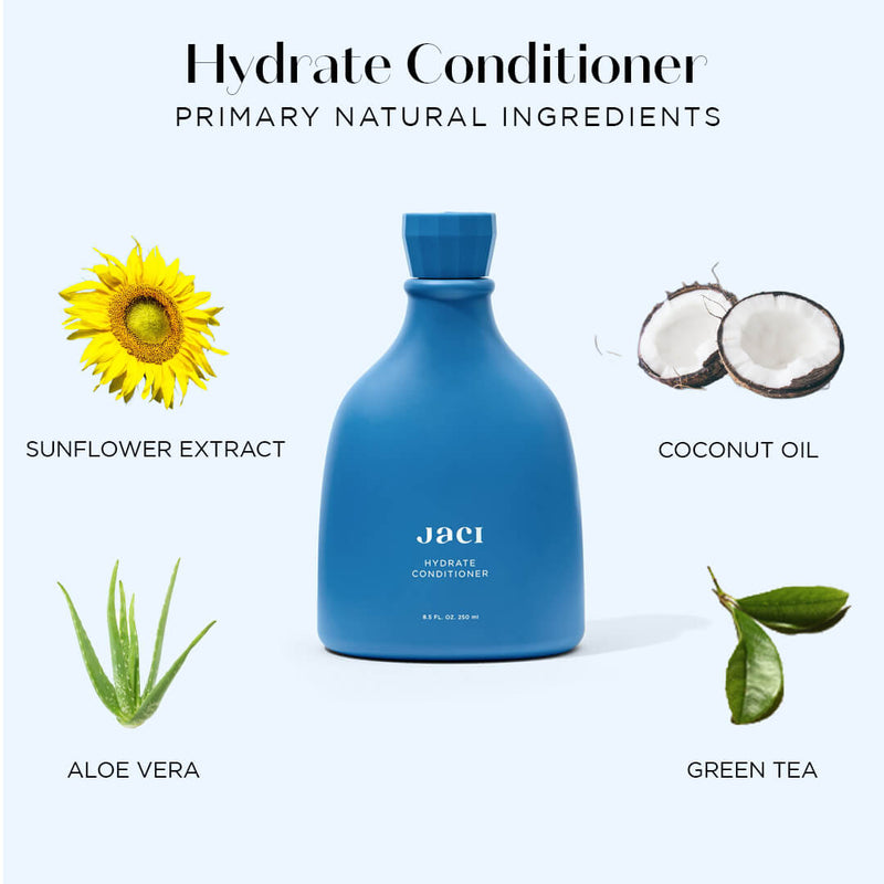 Hydration Conditioner Aloe Vera Coconut Oil Sunflower Green Tea