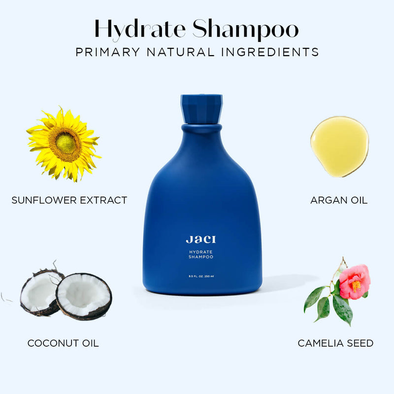 Hydration Shampoo Coconut Oil Sunflower Argan Oil Camelia