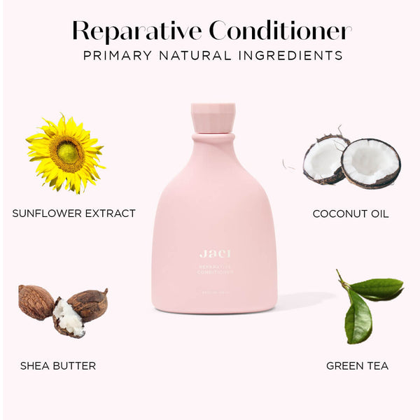 Jaci Reparative Conditioner, Coconut Oil, Green Tea, Shea Butter, Sunflower