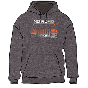 No Road No Problem Fleece Pullover Hoodie