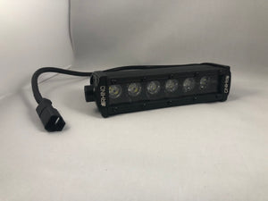 6 Inch Single Row 3D Cree LED Flood Light Bar