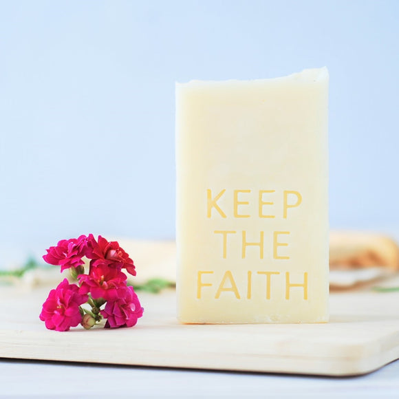 Keep the faith - חותמת לסבון