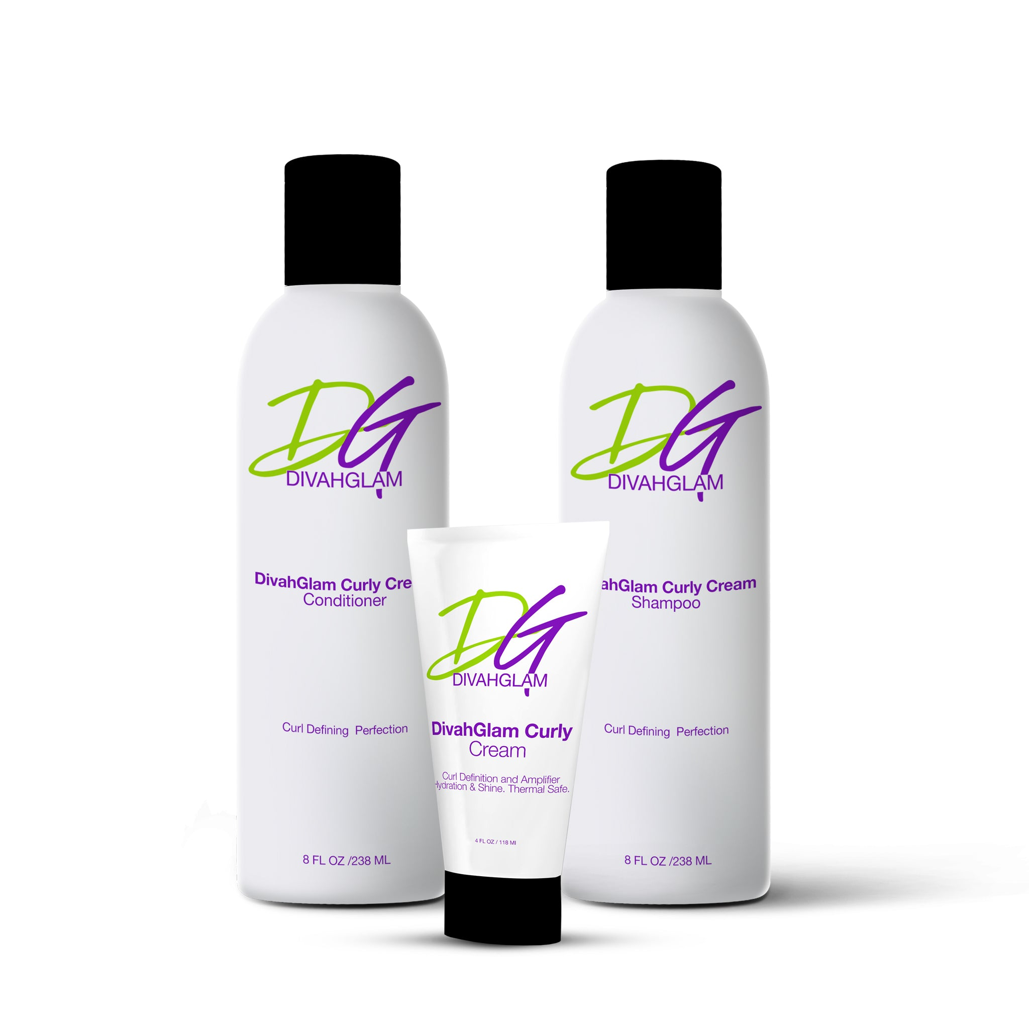 DIVAHGLAM CURLY CREAM PACKAGE