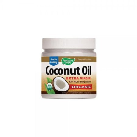 Nature's way organic Extra Virgin Coconut oil , 16 Oz
