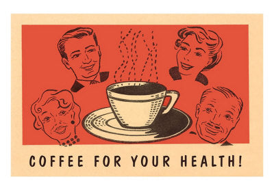vintage ad coffee for your health