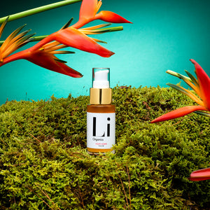 LIQUID AMBER CONCENTRATED SERUM - liorganics-skincare- li organics - clean beauty - charcoal scrub - rice pebble mask - liquid amber - palmarosa mist - revival mist - sustainable skincare -organic skincare - nourish yourself -carolyn li ming geh