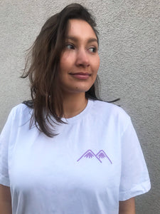 mountains logo tee