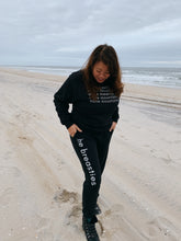 Load image into Gallery viewer, the breasties champion joggers - black