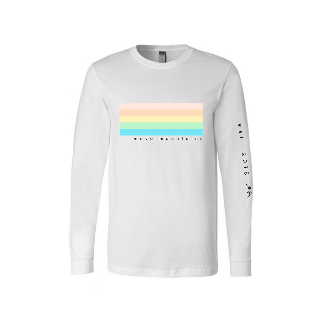 no rain, no rainbows long sleeve