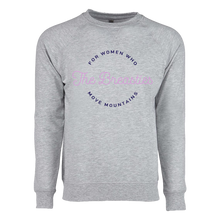Load image into Gallery viewer, circle text french terry crewneck