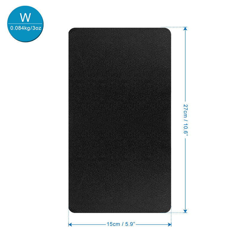 27x15CM Car Dashboard Sticky Anti-Slip PVC Mat