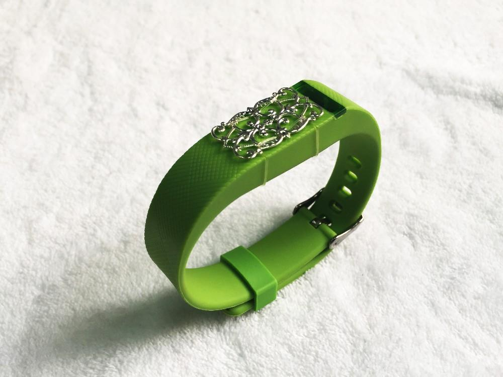 Fitbit Flex Jewelry Flower Leaf Compatible Replacement Band