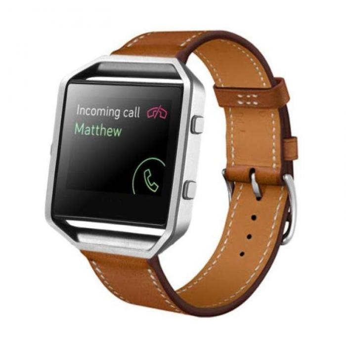 Fitbit Blaze Leather Compatible Replacement Band