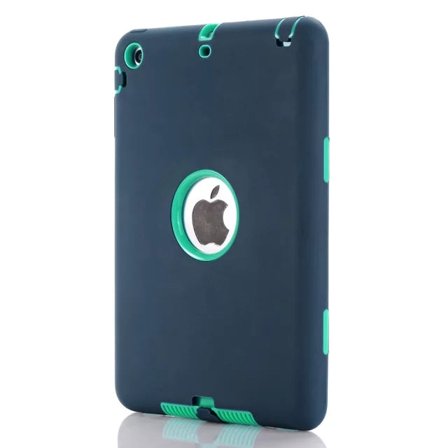 Shockproof Heavy Duty Silicone Hard Case for iPad Mini 1/2/3