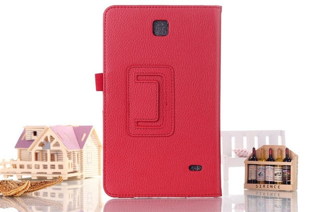 PU Leather Case Cover for Samsung Galaxy Tab 4 8""