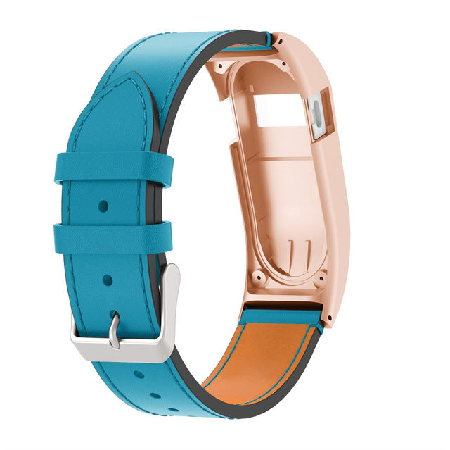 Buy Fitbit Charge HR Luxury Leather Replacement Band | Azod