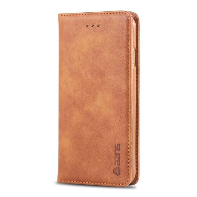 Luxury Leather Case / Wallet Cover for Samsung