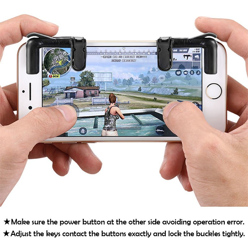 Mobile Game Fire Button Aim Key for Smartphones