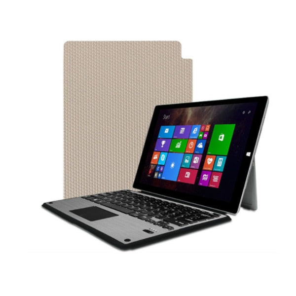 Aluminum Bluetooth Keyboard Case with Trackpad for Microsoft Surface