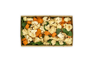 Roasted Cauliflower & Sweet Potato Salad - A Gourmet Plate