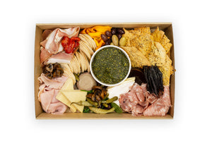 Charcuterie Boxes Deluxe - A Gourmet Plate