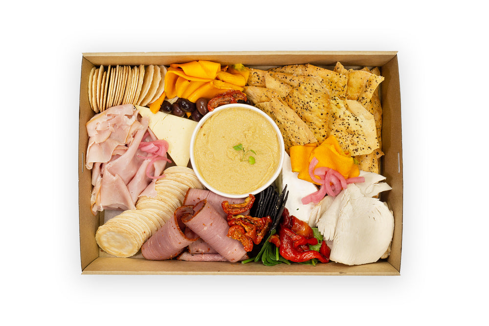 Charcuterie Boxes Standard - A Gourmet Plate