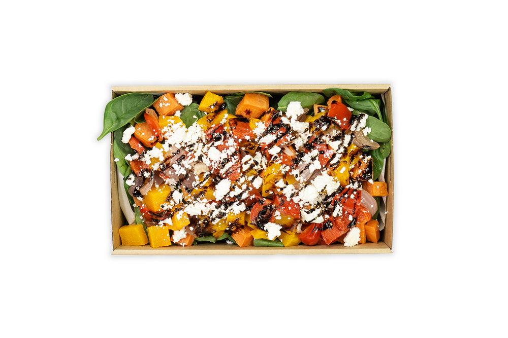 Mediterranean Vegetable Salad - A Gourmet Plate