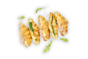 Mini Savoury Croissants Mixed Box - A Gourmet Plate