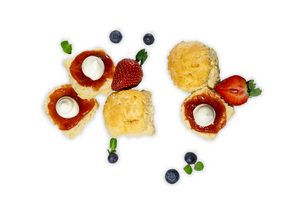 Scones - A Gourmet Plate