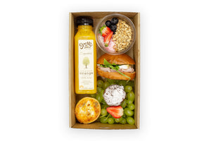 Individual Breakfast Boxes - A Gourmet Plate