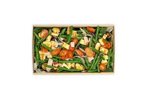 Green Bean & Bacon Salad - A Gourmet Plate