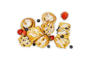 Danish Pastries - A Gourmet Plate