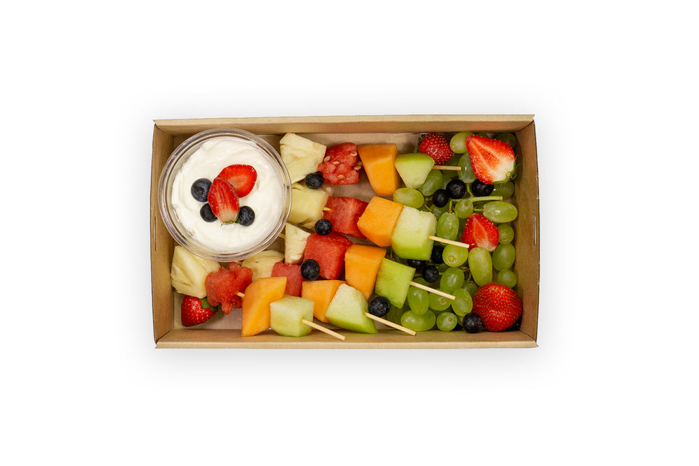 Fresh Fruit Skewers - A Gourmet Plate