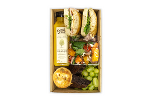 Individual Lunch Boxes - A Gourmet Plate