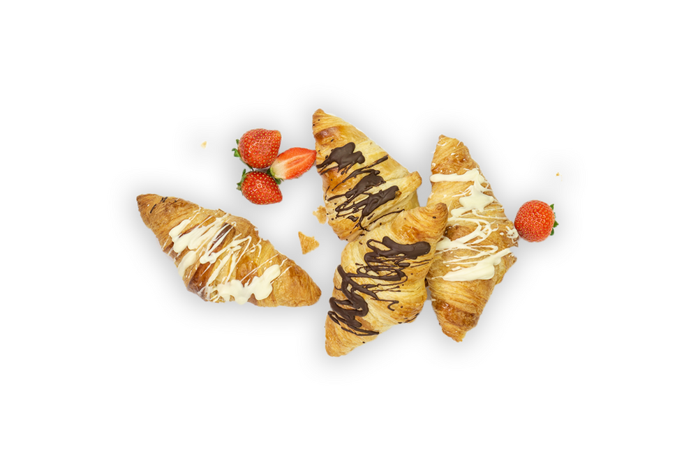 Mini Sweet Croissants- Mixed Box - A Gourmet Plate