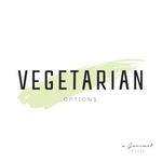 Vegetarian Items - A Gourmet Plate