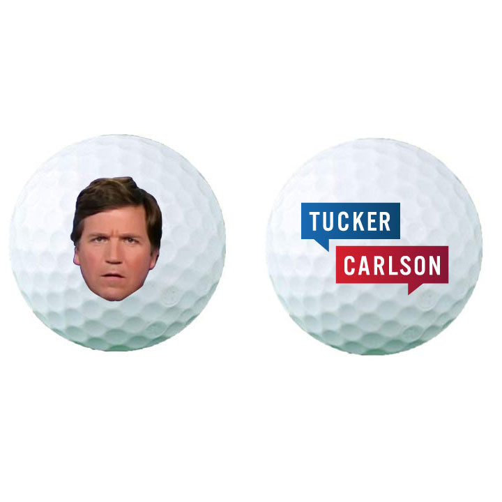 Tucker Face ProV1 Golf Balls - Dozen
