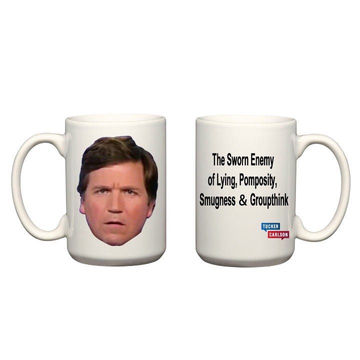 Tucker Face/ Slogan Mug - USA MADE