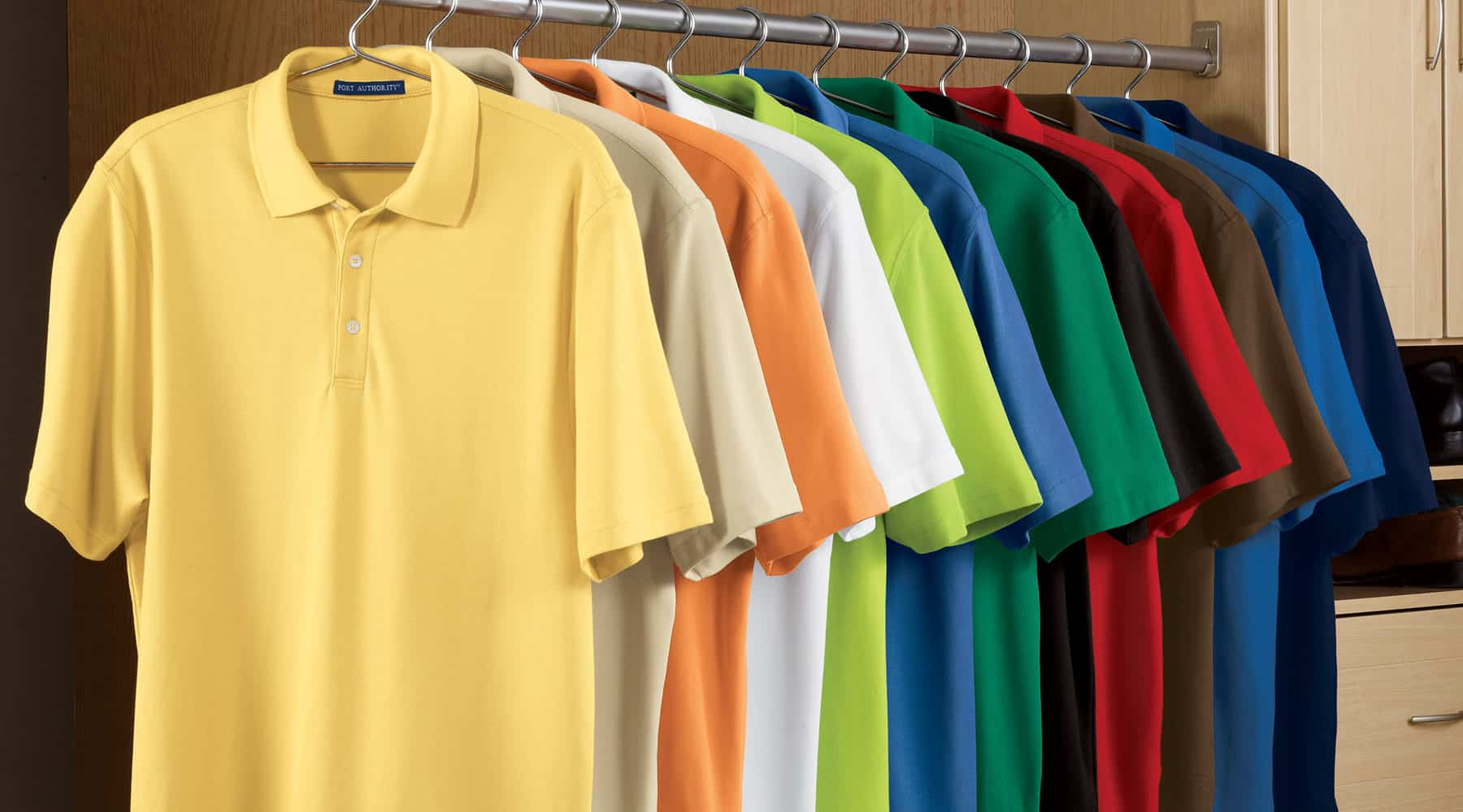 Polo Shirt Material Cotton and Polyester