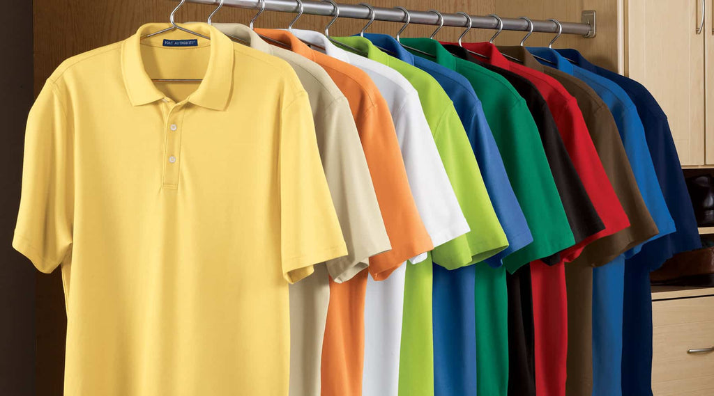 Polo Shirt Material for Custom Logo Polo Shirts
