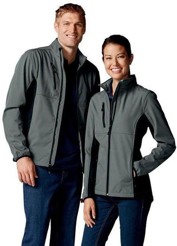 Custom Embroidered Softshell Clique Ladies Narvik Colorblock Softshell