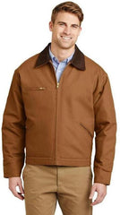 Custom Embroidered Work Jacket Port Authority Brown