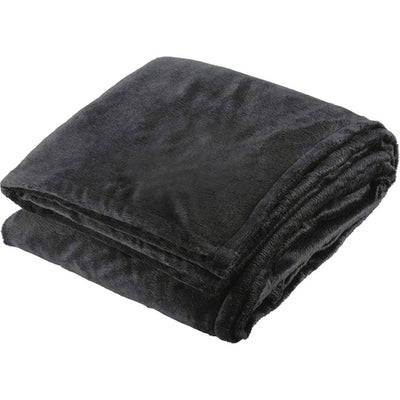 Elevate-Sherpa Home Throw-Black-Thread Logic